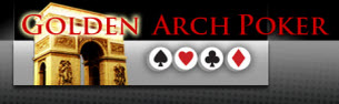 Golden Arch Poker logo